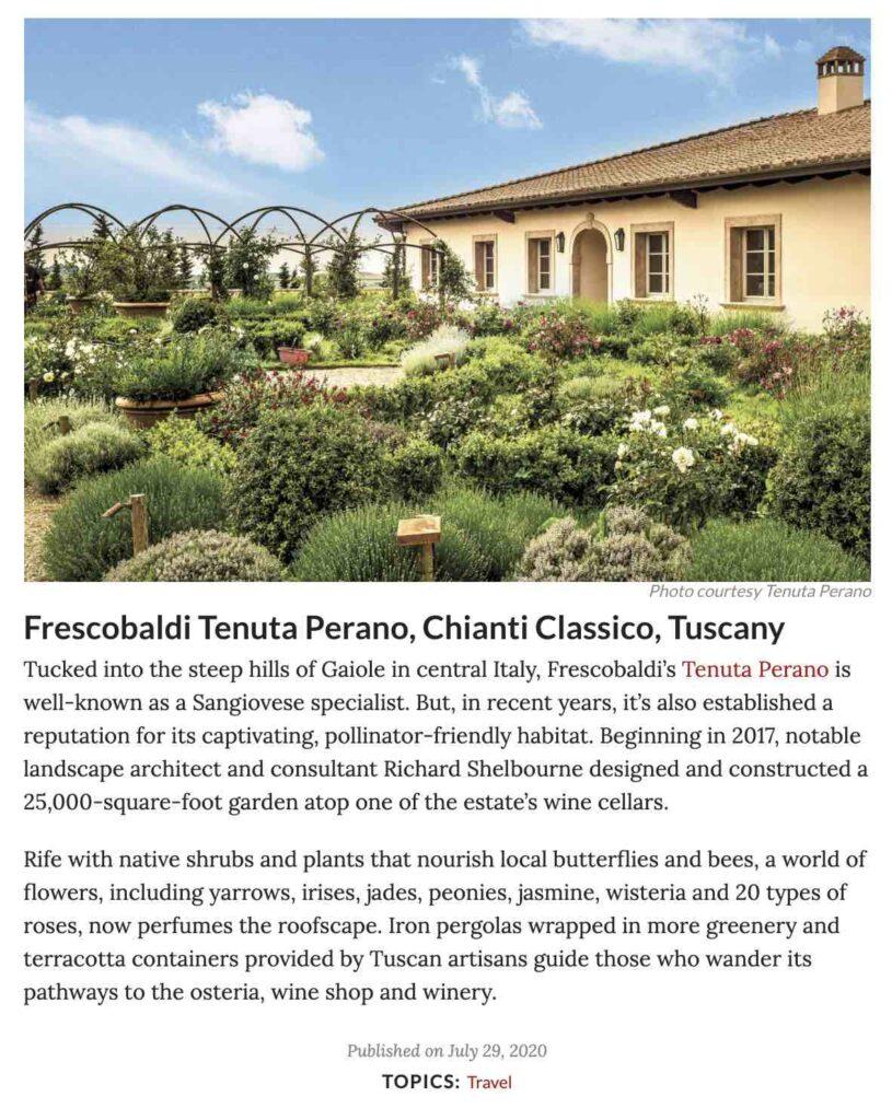 Tenuta Perano - Frescobaldi - Richard Shelbourne